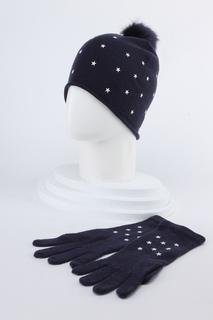 Комплект: шапка, перчатки Tommy Hilfiger