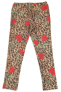 PRINTED LEGGINGS BABY BLUMARINE