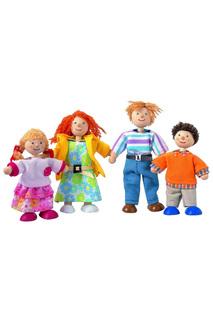 Кукольная семья Plan Toys
