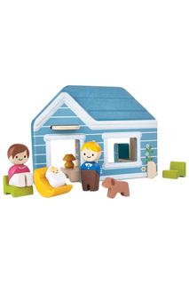Набор с уютным домиком Plan Toys