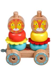 Каталка-пирамидка Лев и Львица Lucy&Leo