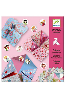 Оригами с фантами Djeco