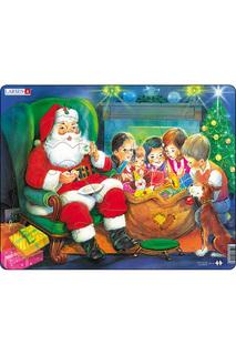 """Пазл """"Санта с детьми"""" LARSEN"""