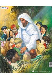 """Пазл """"Иисус с детьми"""" LARSEN"""