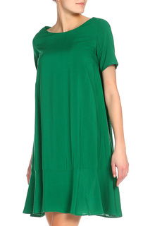 Платье с воланом миди Alina Assi