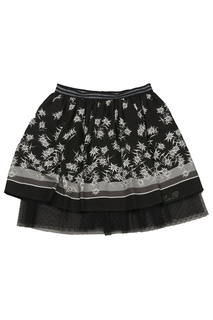 PATTERNED SKIRT Miss Blumarine