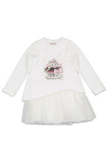 PRINTED DRESS BABY BLUMARINE