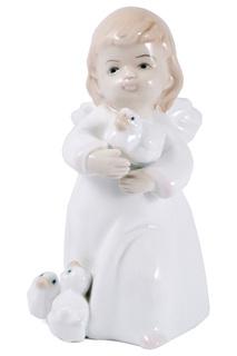 """Статуэтка """"Мечтающий ангел"""" Русские подарки"""