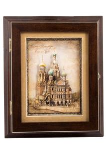 Коллаж-ключница Русские подарки