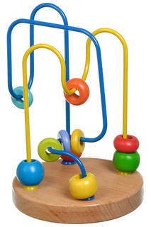 Лабиринт № 6 Игрушки из дерева