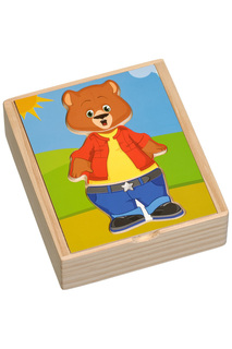 Медвежонок Миша Игрушки из дерева