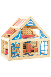 Кукольный дом Игрушки из дерева