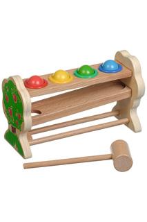 Горка-шарики Игрушки из дерева