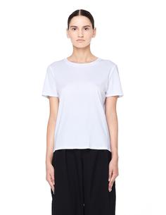 Белая футболка из хлопка The Row