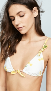For Love & Lemons Savannah Bikini Top