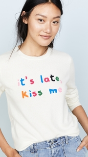 Chinti and Parker Kiss Me Sweater