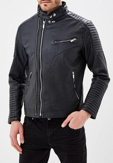 Куртка кожаная Ombre