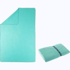Полотенце Из Микрофибры Синее 80 X 130 См Nabaiji