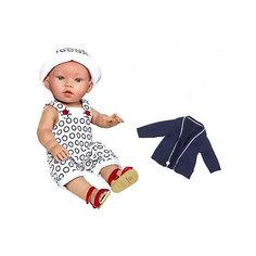 """Кукла-пупс Vestida de Azul """"Soft Touch"""" Дилан в синей жилетке, 38 см"""