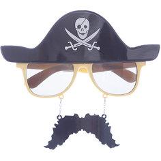 Карнавальные очки Пират из пластика Magic Time
