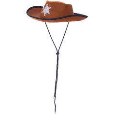 Маскарадная шляпа Шериф для детей Magic Time