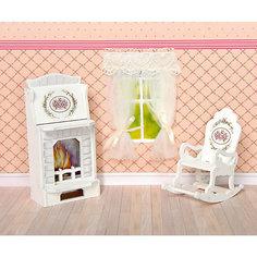 """Набор мебели Одним прекрасным утром """"Прованс"""" Камин и кресло-качалка ЯиГрушка"""