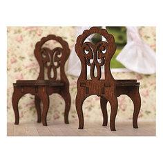 """Набор мебели Одним прекрасным утром """"Два стула"""", коричневый ЯиГрушка"""