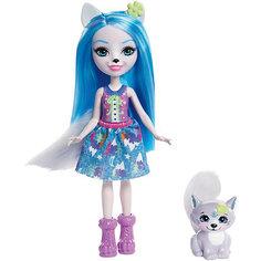 """Мини-кукла Enchantimals """"Любимая зверюшка"""" Волк и волчонок Mattel"""