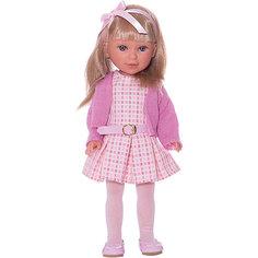 """Кукла Vestida de Azul """"Весна Городской Шик"""" Паулина блондинка с чёлкой, 33 см"""