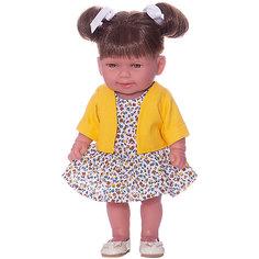 "Кукла-пупс Vestida de Azul ""Soft Touch"" Кина брюнетка с хвостиками, 30 см"