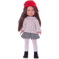 "Кукла Vestida de Azul ""Весна Casual"" Карлотта брюнетка, 28 см"