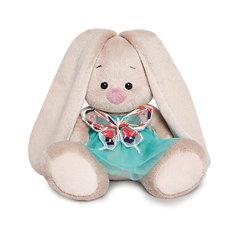 Мягкая игрушка Budi Basa Зайка Ми в бирюзовой юбочке с бабочкой, 15 см