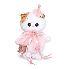 Мягкая игрушка Budi Basa Кошечка Ли-Ли Baby в колпачке с барабаном, 20 см