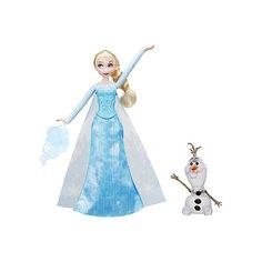 "Кукла Disney Princess ""олодное сердце Эльза и волшебство Hasbro"