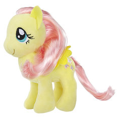 "Мягкая игрушка My little Pony ""Пони с волосами"" Флаттершай, 16 см Hasbro"