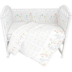 """Комплект в кроватку из 6 предметов Baby Nice """"Саванна"""""""