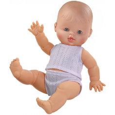 """Кукла Paola Reina """"Горди"""" в нижнем белье, 34 см, мальчик"""