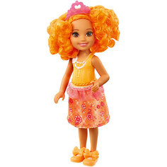 "Мини-кукла Barbie ""Dreamtopia"" Принцесса Челси с оранжевыми волосами, 14 см Mattel"