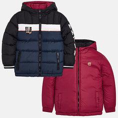 Куртка двусторонняя Mayoral для мальчика
