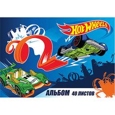 Альбом для рисования Centrum «Hot Wheels», А4, 40 листов