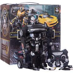 Робот-трансформер на р/у 1Toy, чёрный