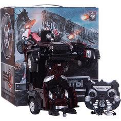 Робот-трансформер на р/у 1Toy Джип, красный