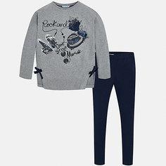 Комплект: футболка с длиннмы рукавом и леггинсы Mayoral для девочки