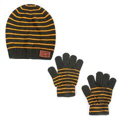 Комплект:шапка, перчатки Play Today для мальчика