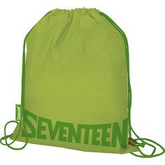 Мешок для обуви Seventeen, зелёный
