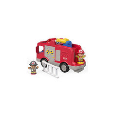 "Машинка с фигурками Fisher Price ""Little People"" Пожарная машина Mattel"