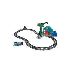 """Железная дорога 2 в 1 Fisher Price """"Томас и его друзья"""" Снос в доках Mattel"""