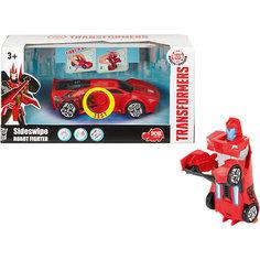 """Робот-машинка Dickie Toys """"Трансформеры"""" Сайдсвайп, 15 см"""