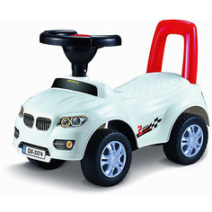 "Машинка-каталка ""Авто"", белая Qunxing Tongzhile"