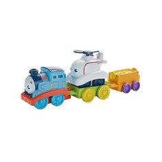 Игровой набор Fisher Price Томас и его друзья, Томас и Гарольд Mattel